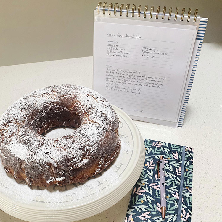 Fill Your File: Easy Almond Cake Image