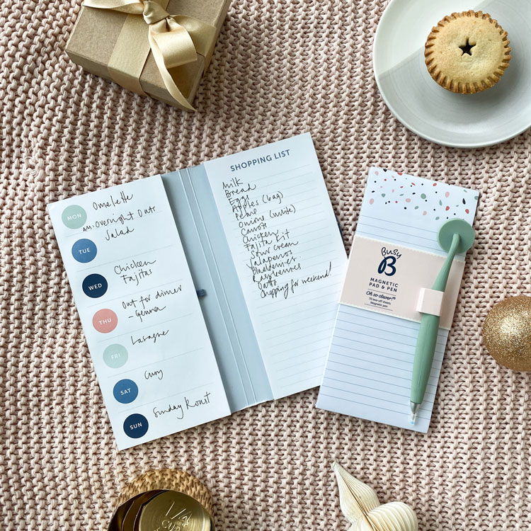 Meal Planner and Magnetic Pad & Pen
