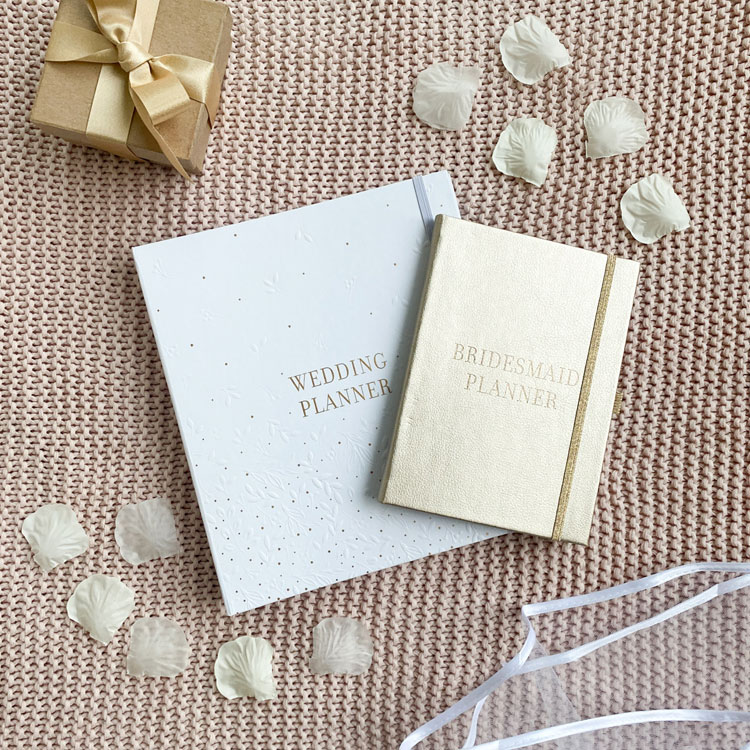 Wedding Planner and Bridesmaid Planner gift