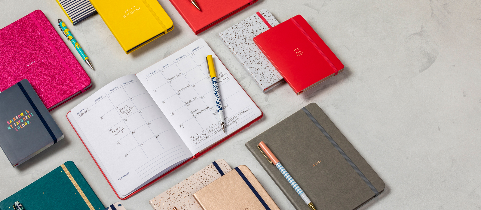 Busy Life Notebooks Banner Image