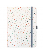 Mid Year Busy Life Diary 2020/21 Terrazzo