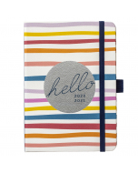 Mid Year A6 To Do Diary 2020/21 Stripe