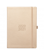 Mid Year Day A Page 2020/21 Rose Gold Faux