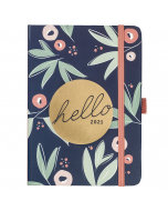 A6 To Do Diary 2021 Floral