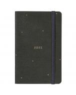 Pocket Diary 2021 Grey Faux