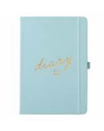 Mid Year 17 Month Diary 2021/22 Seafoam Blue Faux