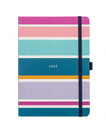Busy Life Diary 2022 Stripe