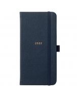 Slim Diary 2022 Navy Faux