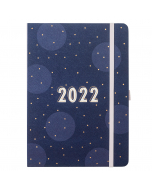 Day A Page Diary 2022 Navy Spot