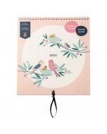 Family Calendar 2022 Birds