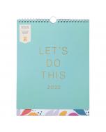 Busy Life Calendar 2022 Seafoam