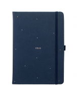 A5 To Do Diary 2022 Navy Faux