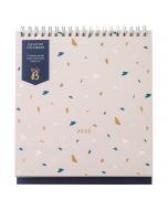 Desktop Calendar 2022 Pink
