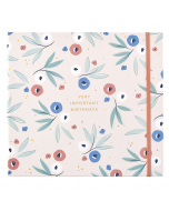 Birthday Card Book - Breezy Blossoms