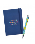 Busy Life Notebook - A6 Paper Vibrant Vibes / Stylus Pen