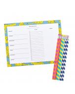 Weekly Planner Pad / Pencils