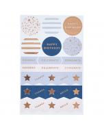 Address & Birthday Book Sticker Refill (x4)
