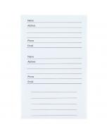 Address & Birthday Book Label Refill (x6)