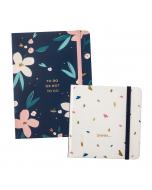To Do Notes Navy / Password Book Cream