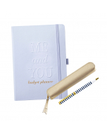 Wedding Budget Book / Pen & Case