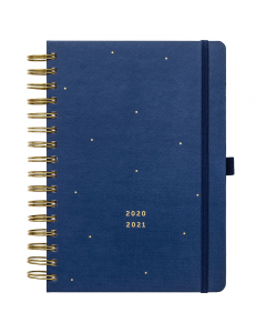 17 Month Busy Life Planner 2020/21 Navy