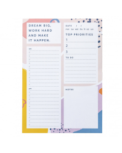 List Pad Bright Stripes
