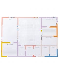 A3 Desk Pad Bright Stripes