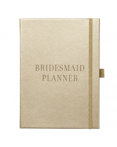 Bridesmaid Planner Gold Faux