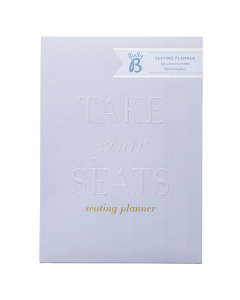 Wedding Seating Planner Powder Blue