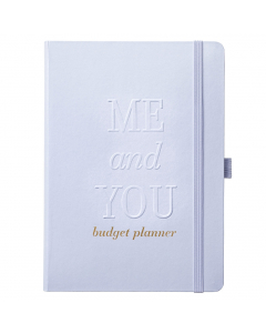 Wedding Budget Book Powder Blue