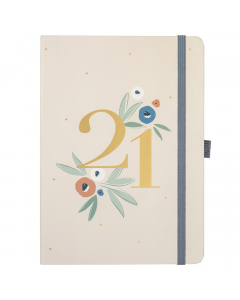 Busy Life Diary 2021 Floral