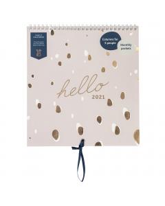 Family Calendar 2021 Lilac Spot