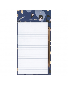 Magnetic Pad & Pen Navy
