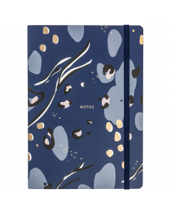 Busy Life Notebook A5 Navy Paper