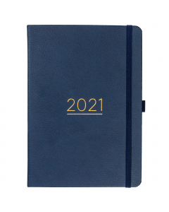 Perfect Planner 2021 Navy Faux