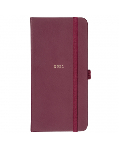 Slim Diary 2021 Berry Faux
