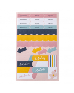Mid Year Perfect Planner 2021/22 Sticker Refill (X5)