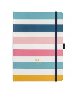 Busy Life Diary 2021/22 Stripe