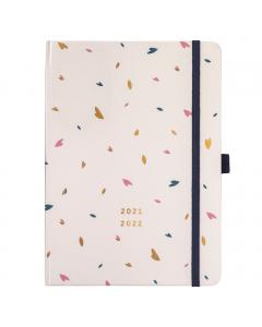 Busy Life Diary 2021/22 Cream
