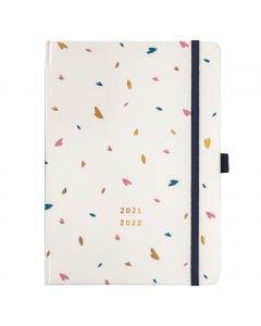 Mid Year Busy Life Diary 2021/22 Cream