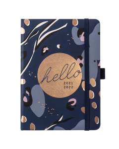 Mid Year A6 To Do Diary 2021/22 Navy