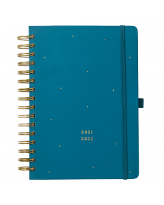 17 Month Busy Life Planner 2021/22 Teal