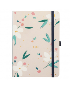 Busy Life Diary 2022 Pink Floral
