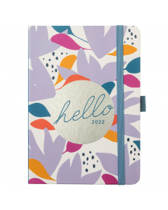 A6 To Do Diary 2022 Floral