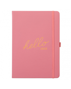 Family Diary 2022 Pink Faux