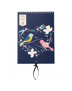 Couples Calendar 2022 Birds