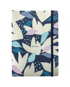 Busy Life Notebook A5 Paper Floral