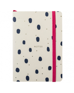 Busy Life Notebook A6 Paper Grey