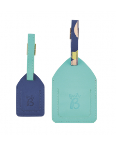 Luggage tags from Busy B. Two different sized tags