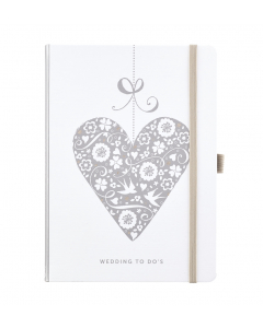 Wedding To Do Notebook with checklists and pockets